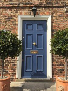 Custom made solid wooden doors Selby